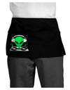 Alien DJ Dark Adult Mini Waist Apron, Server Apron