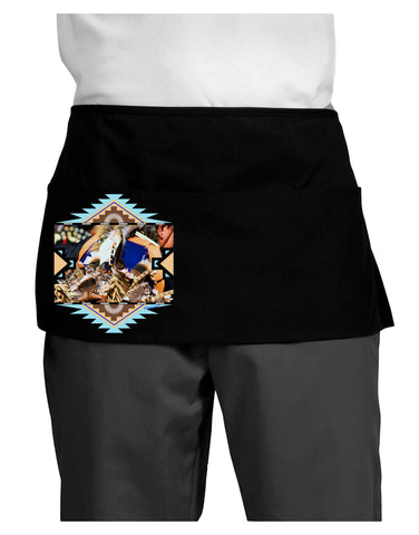 Native American Dancer 1 Dark Adult Mini Waist Apron