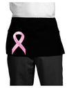 Pink Breast Cancer Awareness Ribbon - Stronger Everyday Dark Adult Mini Waist Apron, Server Apron