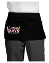 Labor Day - Celebrate Dark Adult Mini Waist Apron, Server Apron