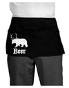Beer Animal Dark Adult Mini Waist Apron, Server Apron