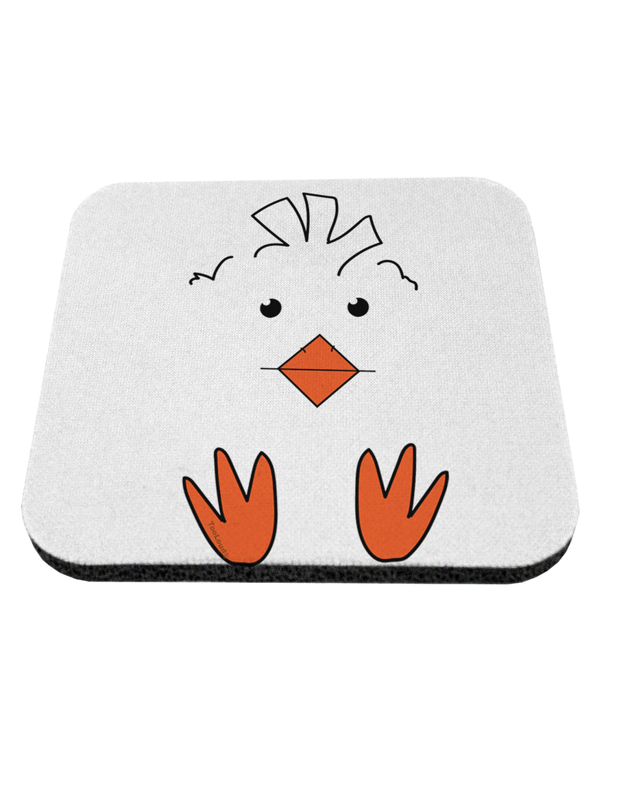TooLoud Cute Easter Chick Face Coaster