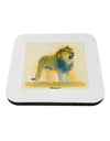 Lion Watercolor 1 Coaster