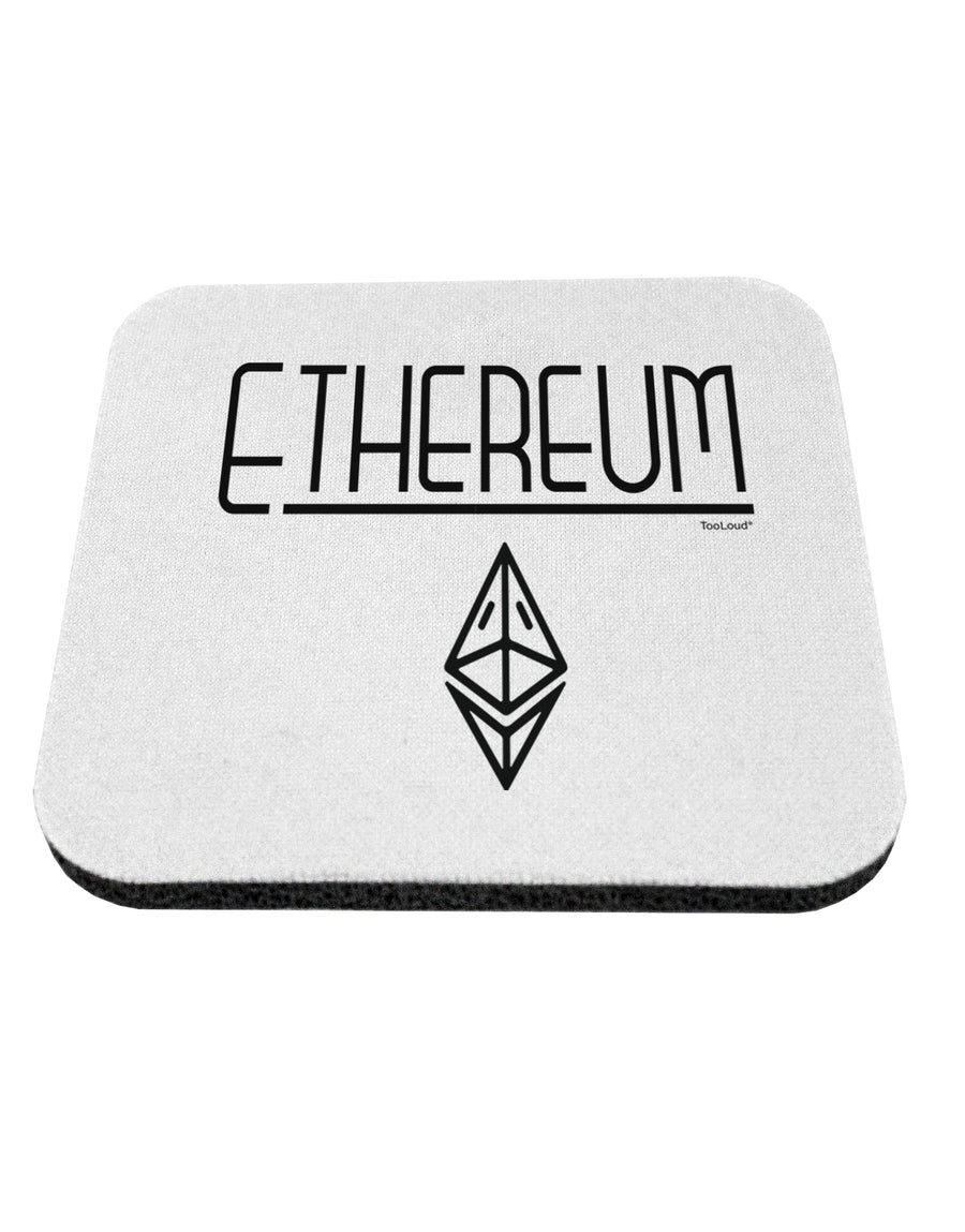 TooLoud Ethereum with logo Coaster