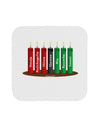 Kwanzaa Candles 7 Principles Drink Coaster