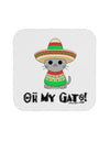 Oh My Gato - Cinco De Mayo Coaster by TooLoud