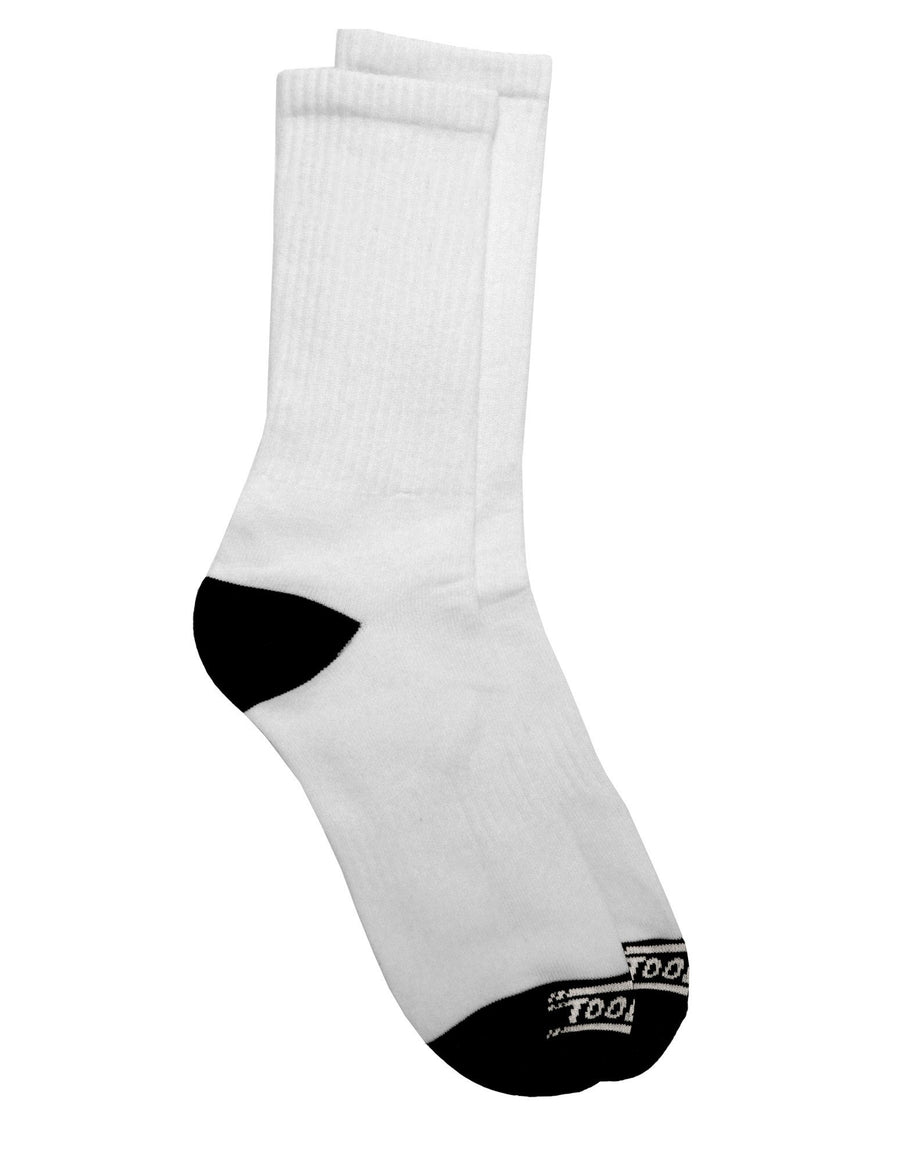 Custom Personalized Image or Text Crew Socks