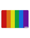 Rainbow Vertical Gay Pride Flag Placemat All Over Print by TooLoud Set of 4 Placemats