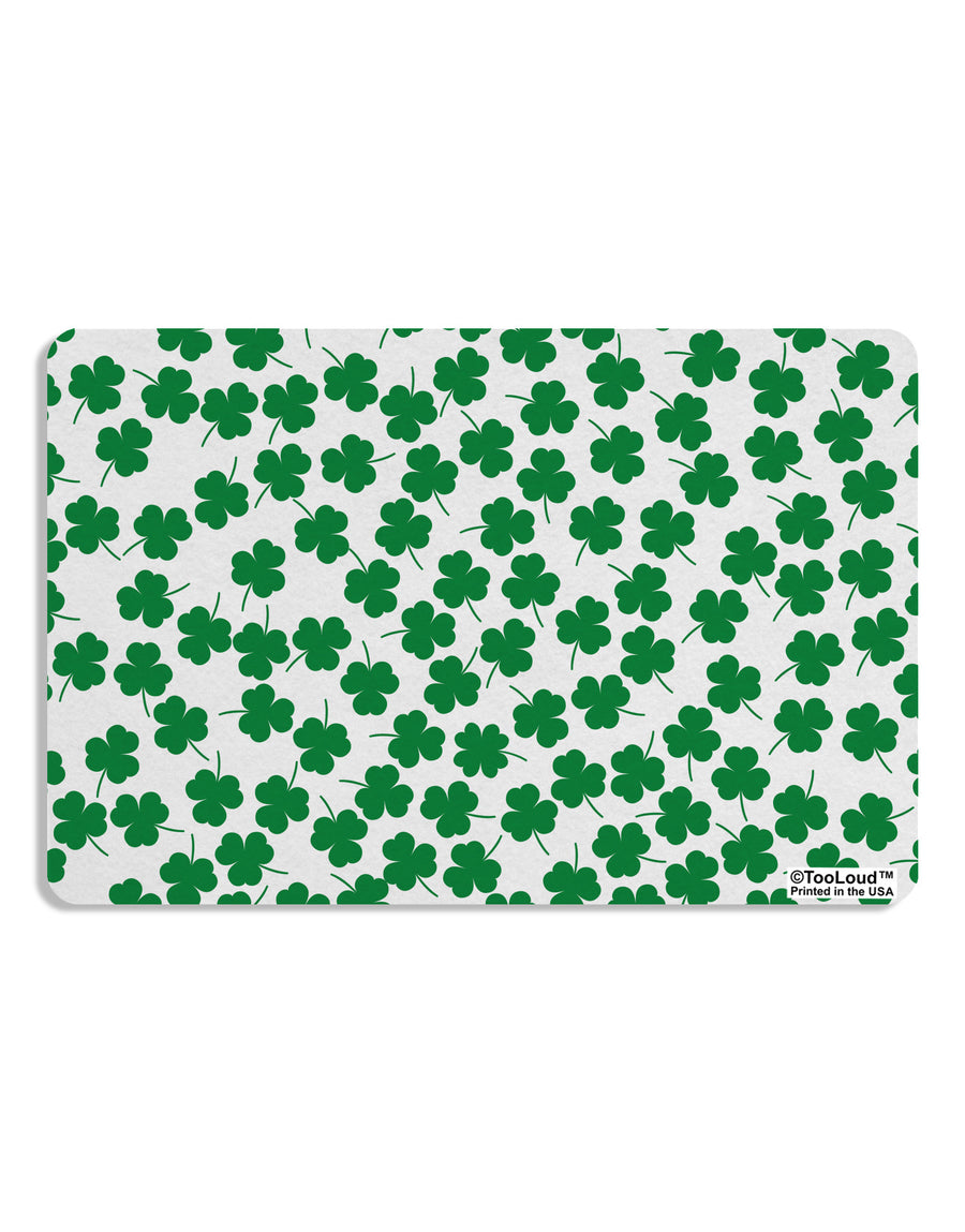Find the 4 Leaf Clover Shamrocks Placemat All Over Print Set of 4 Placemats