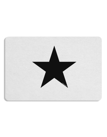 TooLoud Black Star Placemat
