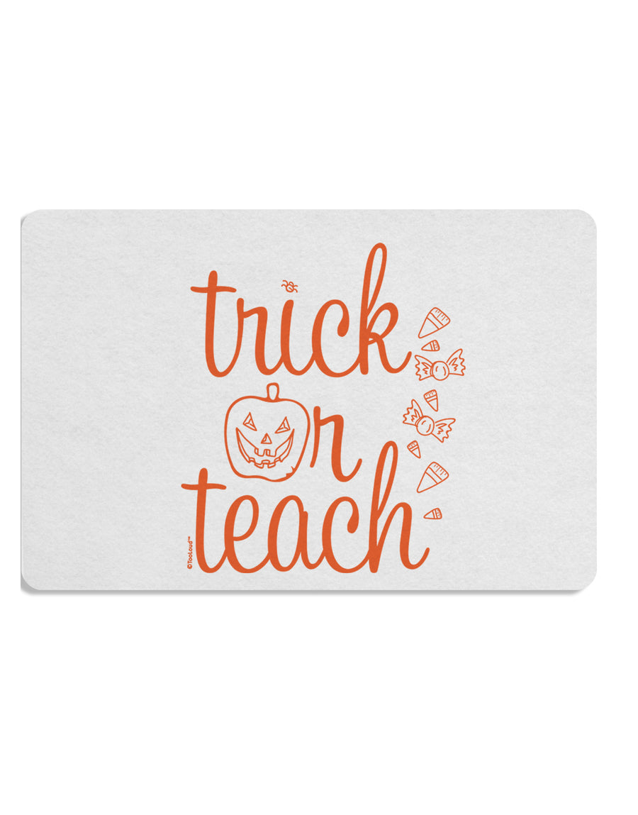 TooLoud Trick or Teach Placemat Set of 4 Placemats Multi-pack
