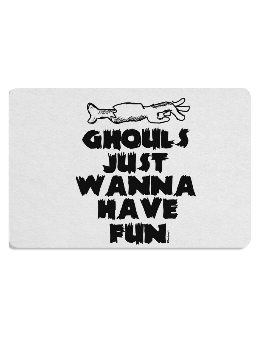 TooLoud Ghouls Just Wanna Have Fun Placemat Set of 4 Placemats Multi-p