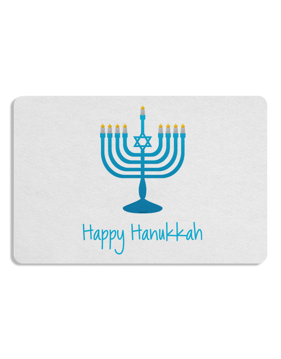 Happy Hanukkah Menorah 12 x 18 Placemat Set of 4 Placemats