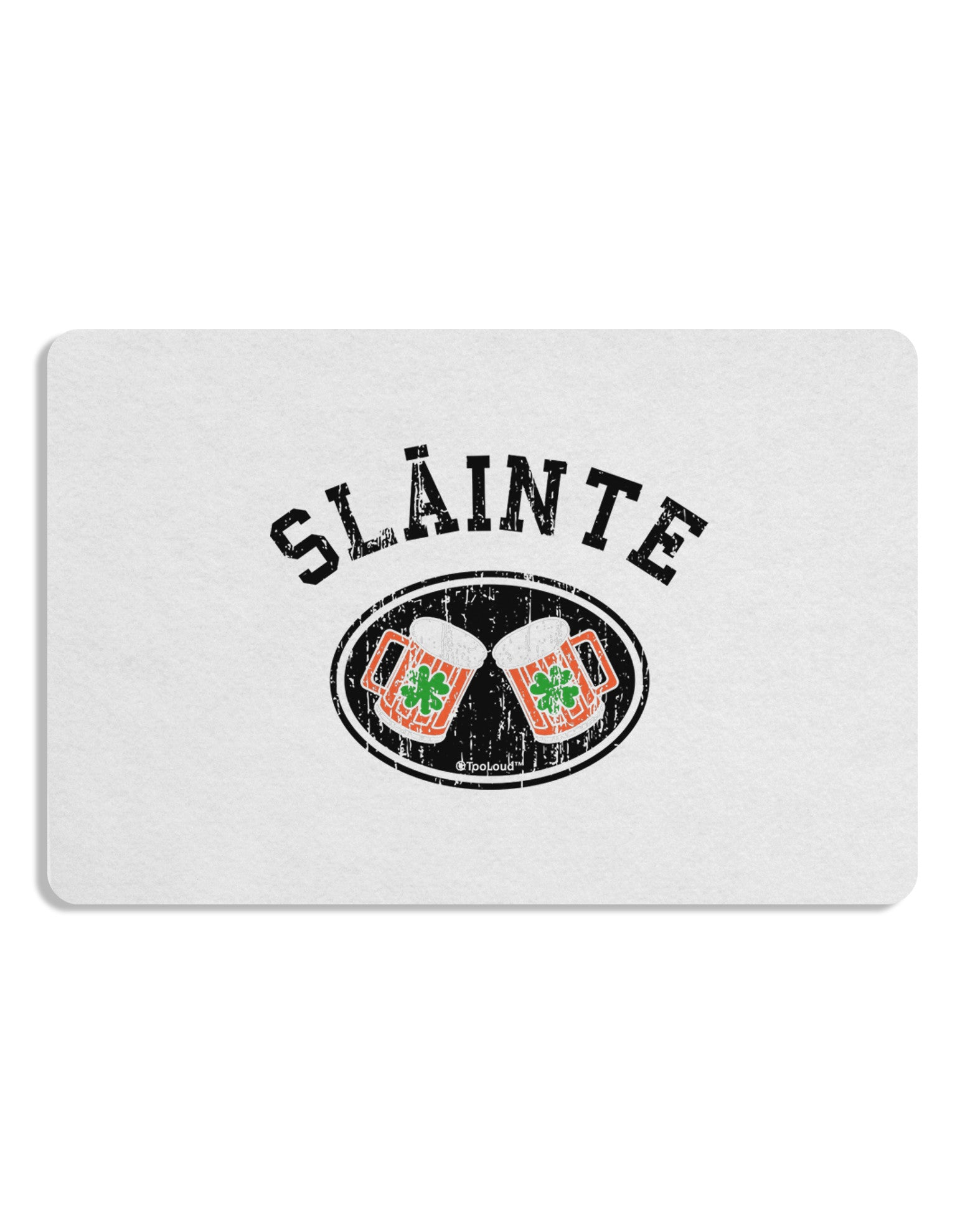 Slainte - St. Patrick's Day Irish Cheers Placemat by TooLoud Set of 4 Placemats