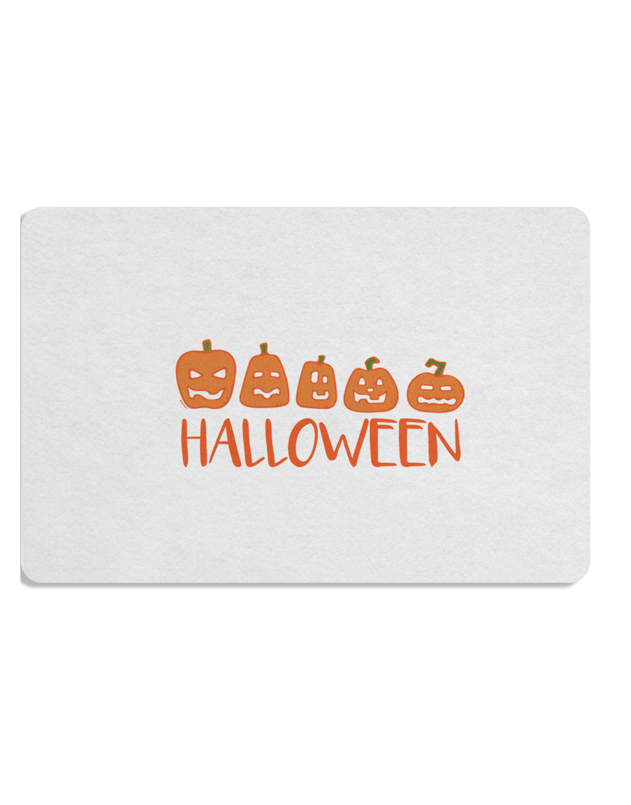TooLoud Halloween Pumpkins Placemat Set of 4 Placemats Multi-pack