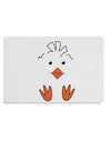 TooLoud Cute Easter Chick Face Placemat Set of 4 Placemats Multi-pack