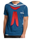 School Uniform Costume - Blue Men's Sub Tee Single Side All Over Print