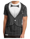 Skeleton Tuxedo Suit Costume Men's Sub Tee Single Side All Over Print