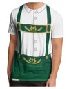 Lederhosen Costume Green Men's Sub Tee Dual Sided All Over Print