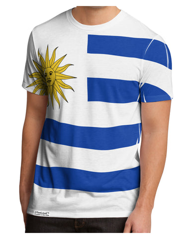 Uruguay Flag AOP Men's Sub Tee Dual Sided 2XL All Over Print Tooloud