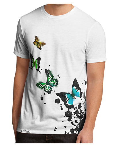 Splatter Butterflies AOP Men's Sub Tee Dual Sided All Over Print