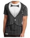 Skeleton Tuxedo Suit Costume Men's Sub Tee Dual Sided All Over Print