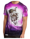 Astronaut Cat AOP Men's Sub Tee Dual Sided All Over Print