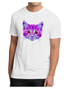 Geometric Kitty Purple Men's Sublimate Tee