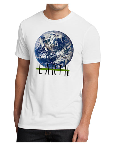 Planet Earth Text Men's Sublimate Tee