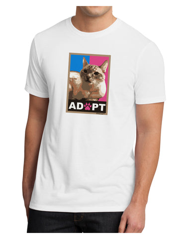 Adopt Cute Kitty Poster Men's Sublimate Tee