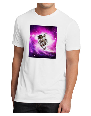 Astronaut Cat Men's Sublimate Tee