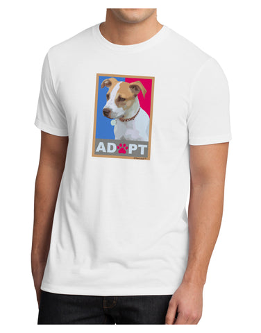 Adopt Cute Puppy Poster Men's Sublimate Tee