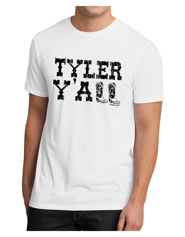 TooLoud Tyler Y'all - Southwestern Style Men's Sublimate Tee