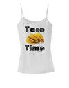 Taco Time - Mexican Food Design Spaghetti Strap Tank  by TooLoud