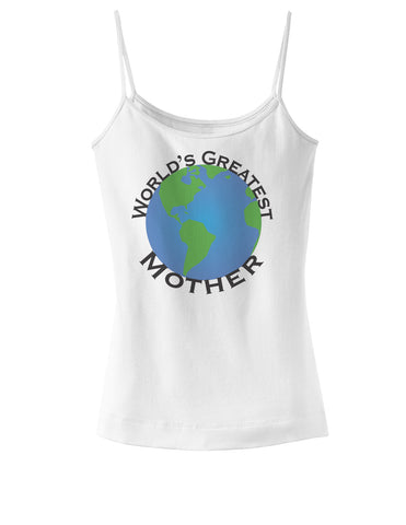 World's Greatest Mother Spaghetti Strap Tank