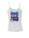Friday - 2nd Favorite F Word Spaghetti Strap Tank