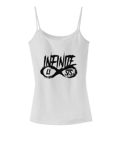 Infinite Lists Spaghetti Strap Tank  by TooLoud