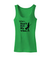 Don't Kill My Vibe Womens Tank Top