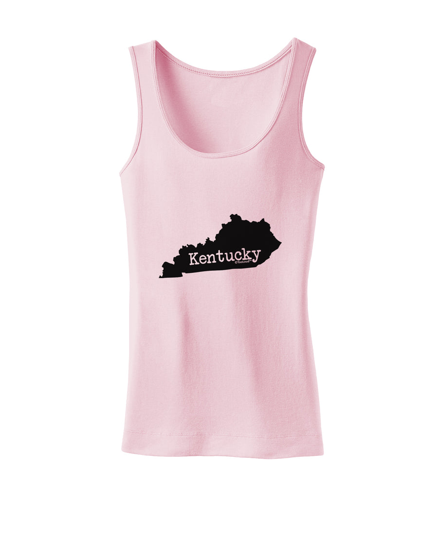 Kentucky - United States Shape Womens Tank Top by TooLoud