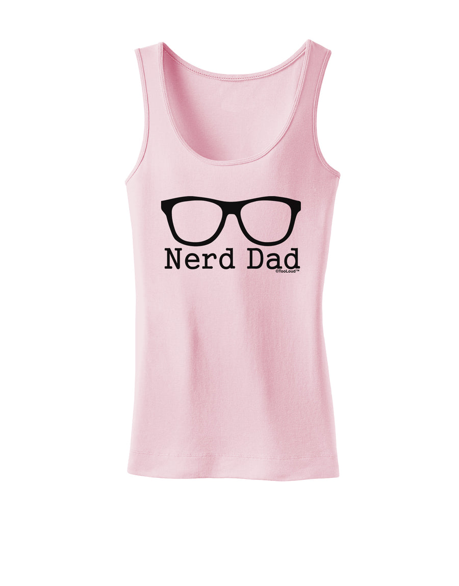 Nerd Dad - Glasses Womens Tank Top by TooLoud