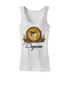 Doge Coins Womens Petite Tank Top White 4XL Tooloud