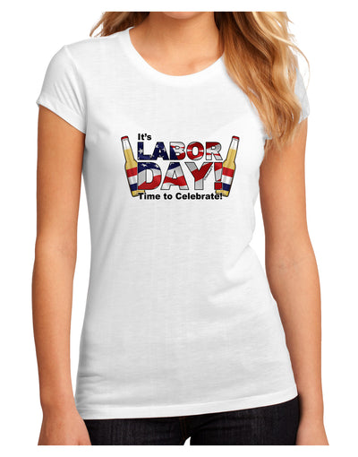 Labor Day - Celebrate Juniors Petite Sublimate Tee