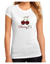 Cherry Pi Juniors Petite Sublimate Tee