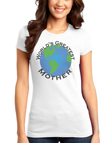 World's Greatest Mother Juniors T-Shirt