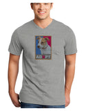Adopt Cute Puppy Poster Adult V-Neck T-shirt