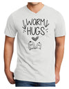 Warm Hugs Adult V-Neck T-shirt White 4XL Tooloud