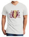 If you Fail to Plan, you Plan to Fail-Benjamin Franklin Adult V-Neck T