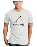 Acute Baby Adult V-Neck T-shirt