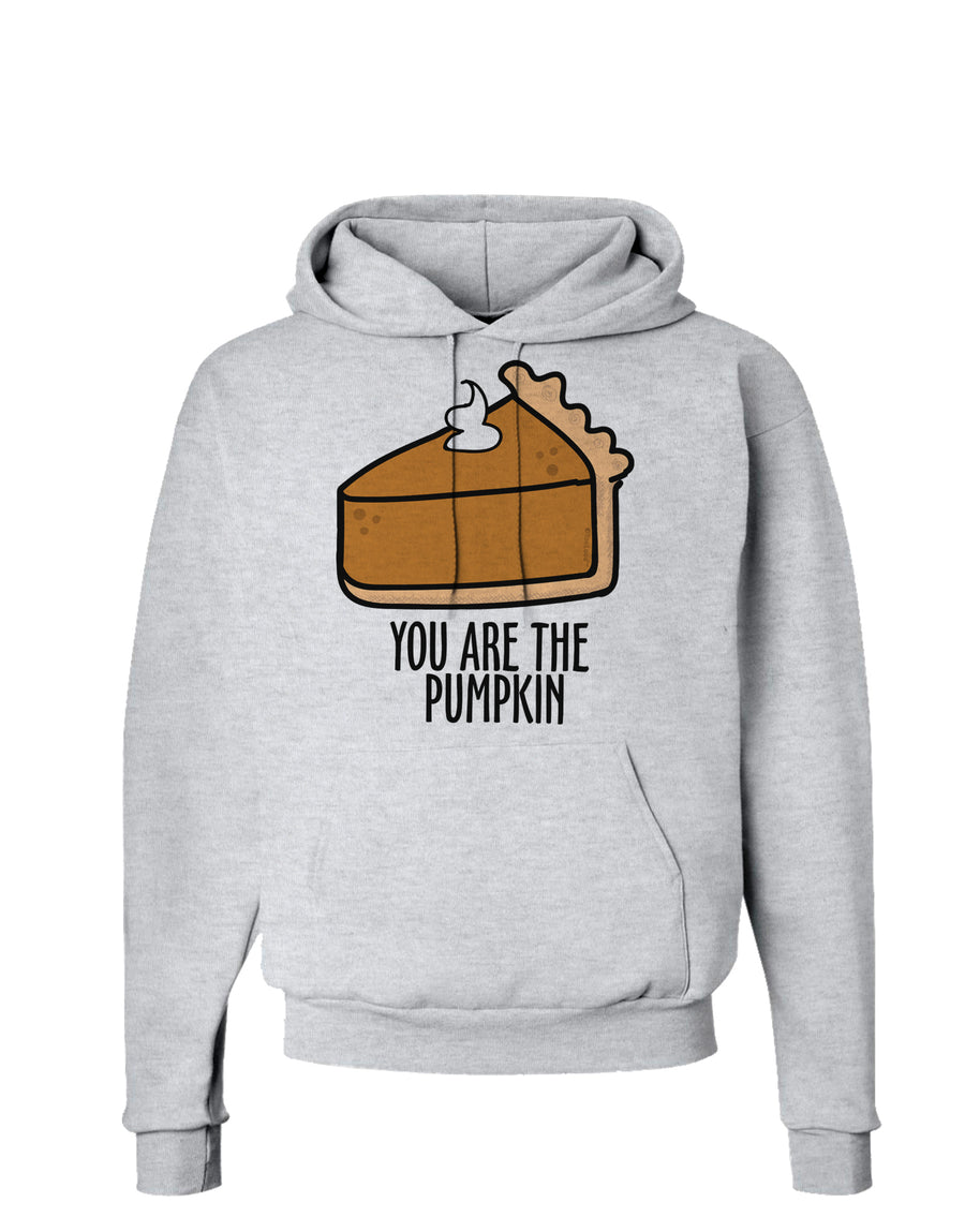 You are the PUMPKIN Hoodie Sweatshirt White 3XL Tooloud