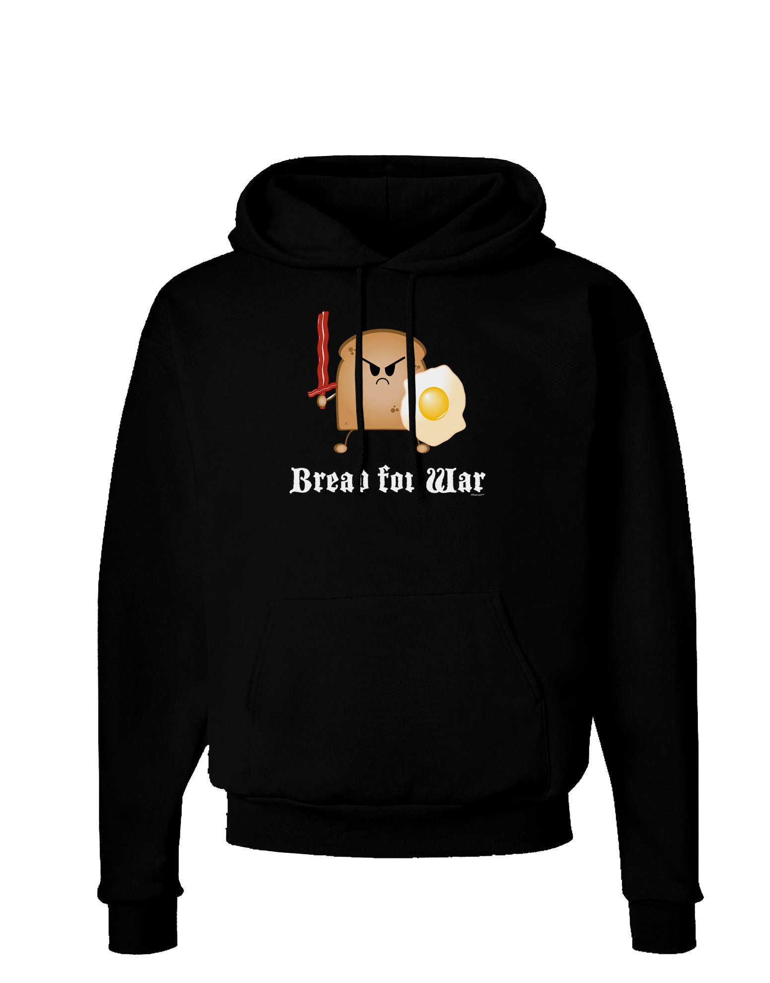 Bread for War Dark Hoodie Sweatshirt